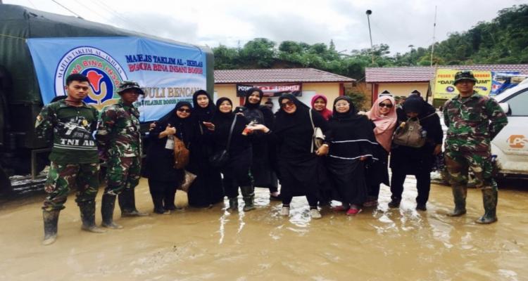 Majelis Taklim Al-Ikhlas Gelar Baksos Peduli Bencana